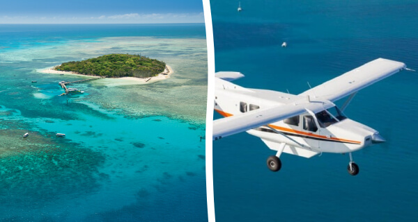 Scenic Reef Flight & Green Island