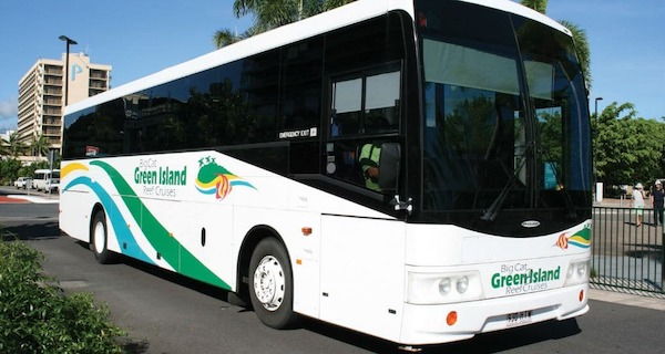 Big Cat Green Island Reef Cruises Coach Transfers Extra