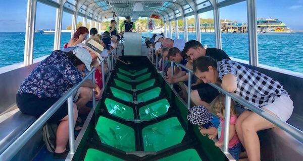 Big Cat Green Island Reef Cruises Glass Bottom Boat Extra