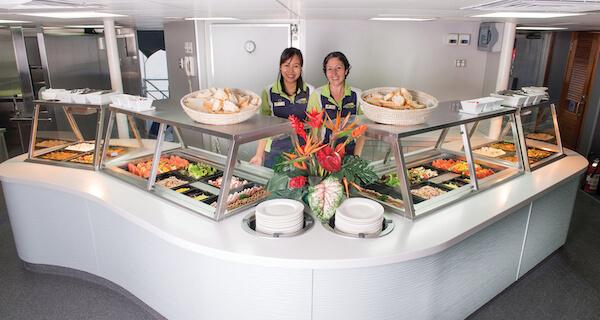 Big Cat Green Island Reef Cruises Lunch